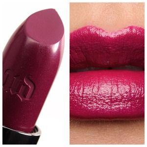 NWT Urban decay vice lipstick venom dark plum